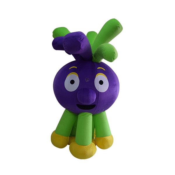 custom made mascot malaysia jup jup hi5 hola mascot 1