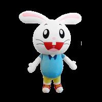 mascot costume company malaysia darlie rabbit hola mascot 1