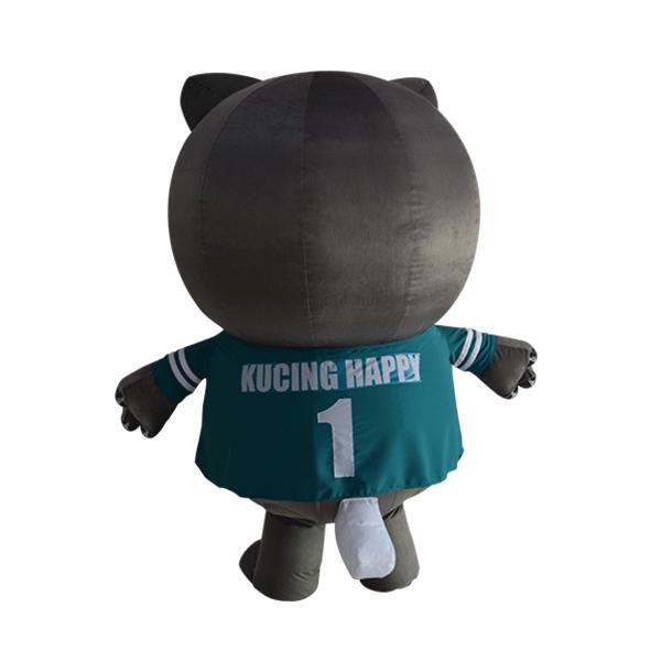 mascot costume company malaysia bsn happy cat hola mascot 7