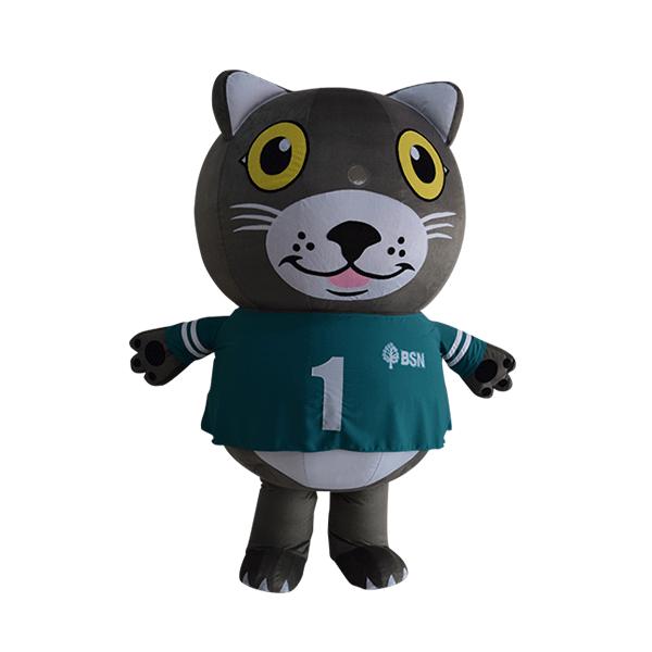 mascot costume company malaysia bsn happy cat hola mascot 5