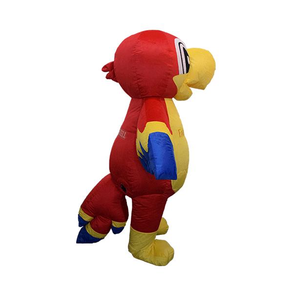 custom made mascot faber castell parrot yellow hola mascot 4