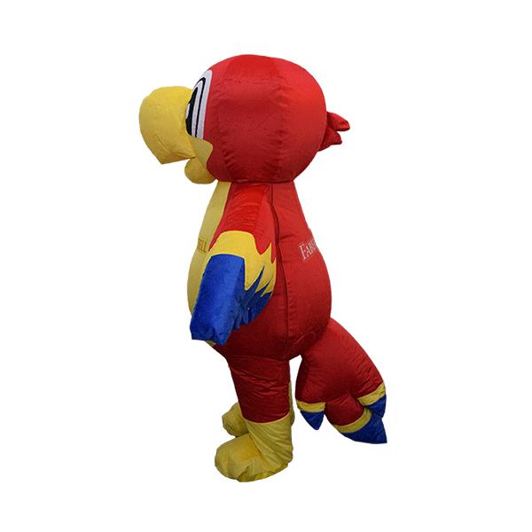 custom made mascot faber castell parrot yellow hola mascot 2