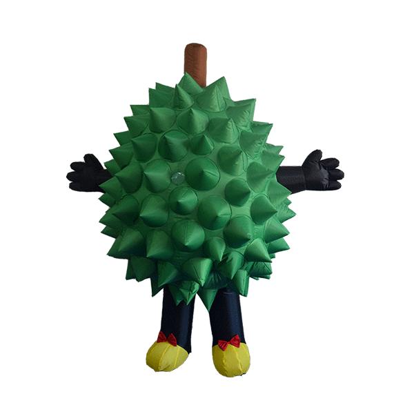 custom made mascot malaysia durian girl hola mascot 1