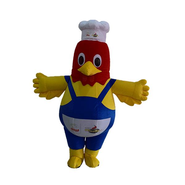 mascot costume supplier malaysia ayamas hola mascot 1