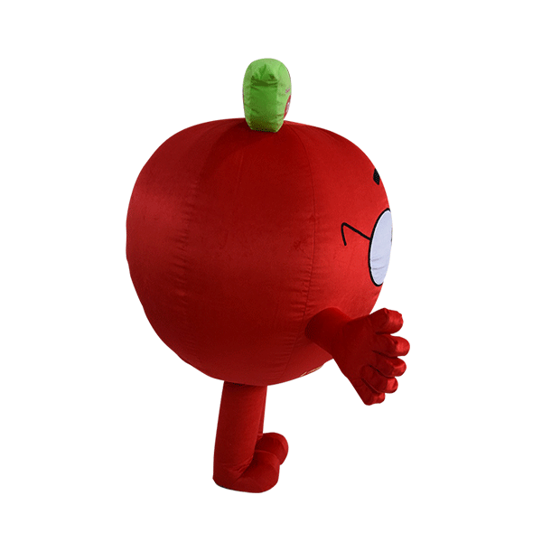 custom made mascot malaysia dumex apple hola mascot 4