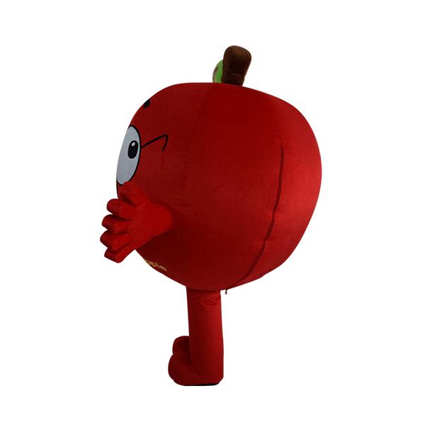 custom made mascot malaysia dumex apple hola mascot 2