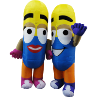 maskot malaysia ubat couple hola mascot 1