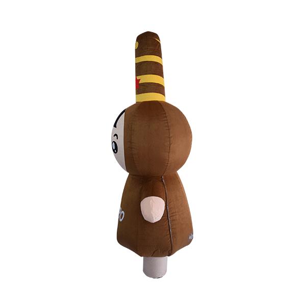 custom mascot malaysia pepero hola mascot 2