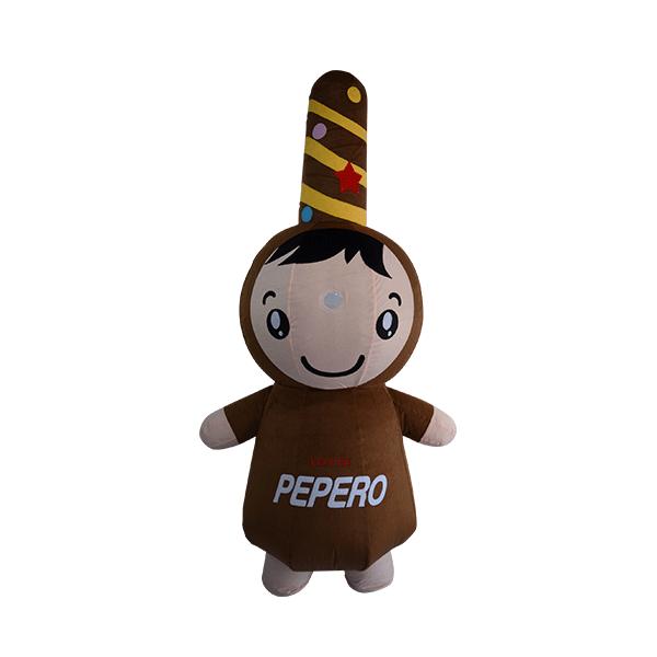 custom mascot malaysia pepero hola mascot 3