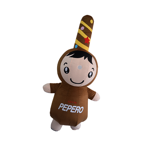 custom mascot malaysia pepero hola mascot 4