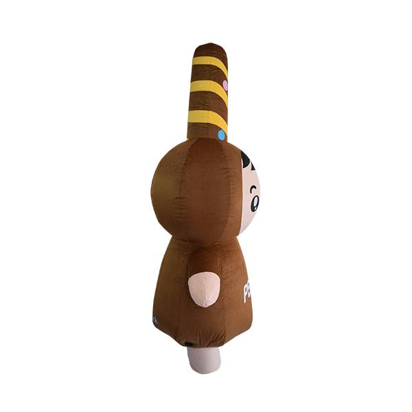 custom mascot malaysia pepero hola mascot 5