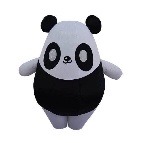 custom made mascot wwf panda hola mascot 1