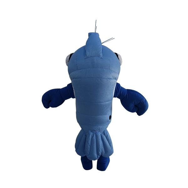 fur custom made mascot udang galah hola mascot 3