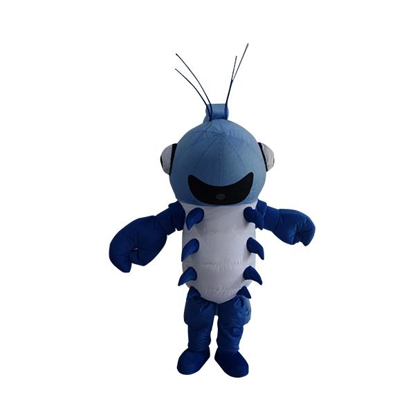 fur custom made mascot udang galah hola mascot 1