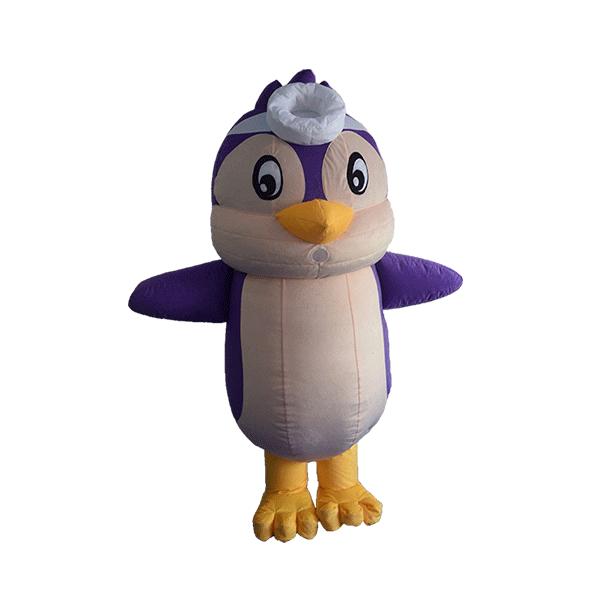 custom mascot malaysia KMC kids clun penguin hola mascot 6