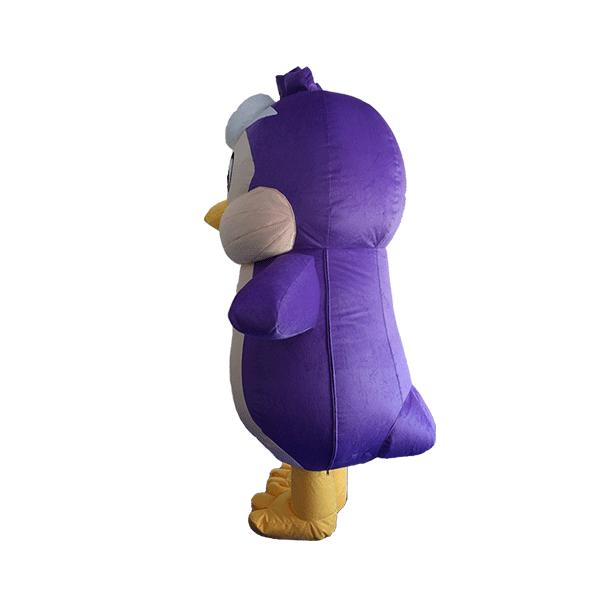 custom mascot malaysia KMC kids clun penguin hola mascot 5