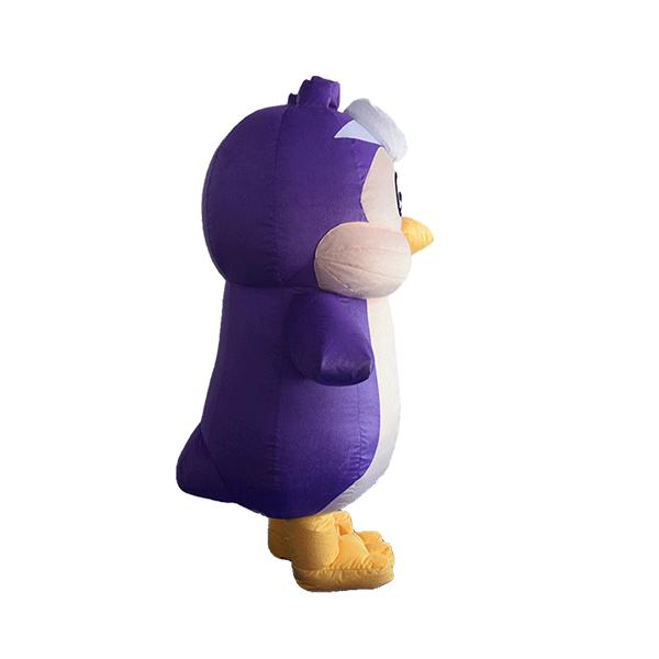 custom mascot malaysia KMC kids clun penguin hola mascot 2