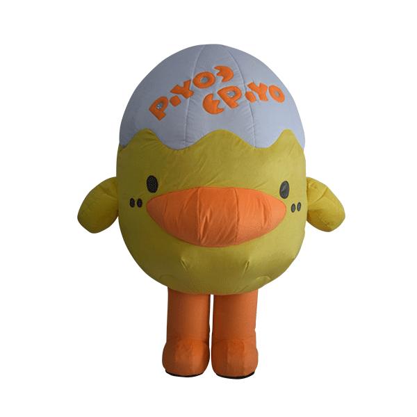 custom made mascot piyo piyo hola mascot 1