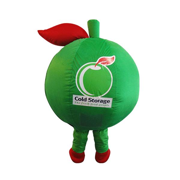 custom mascot malaysia cold storage hola mascot 4