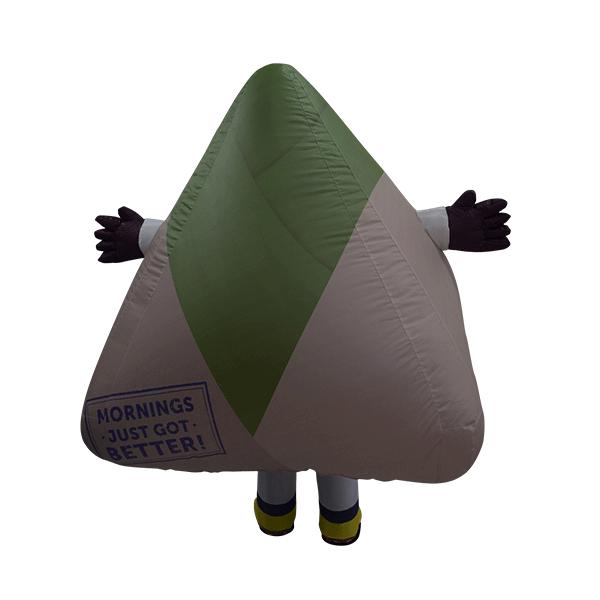 custom made mascot malaysia petronas mesra nasi lemak hola mascot 3