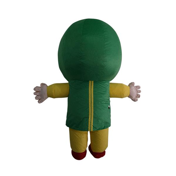custom mascot malaysia giant kak g hola mascot 3