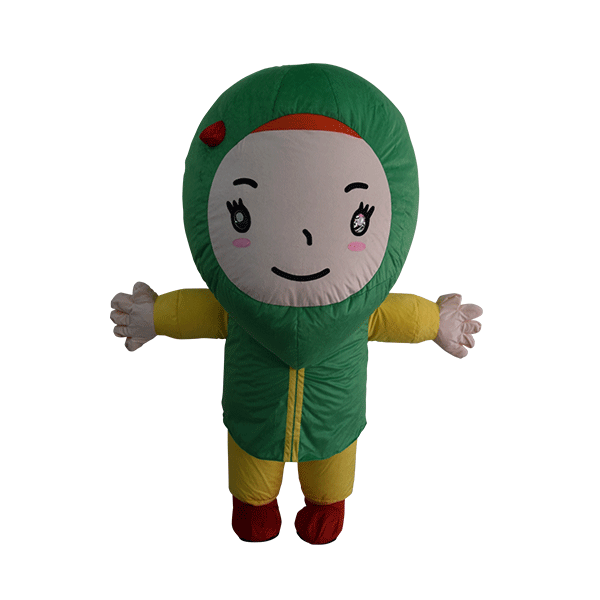 custom mascot malaysia giant kak g hola mascot 1