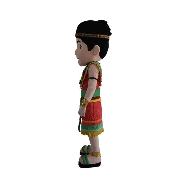 custom mascot malaysia haku lost world tambun hola mascot 2