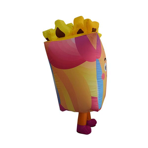 inflatable custom mascot malaysia cinema gsc popcorn hola mascot 4