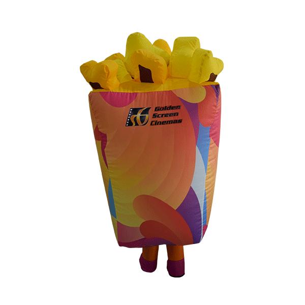 inflatable custom mascot malaysia cinema gsc popcorn hola mascot 3