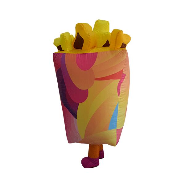 custom mascot malaysia cinema gsc popcorn hola mascot 2