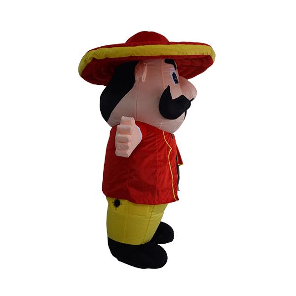 custom made mascot malaysia mister potato hola mascot 4