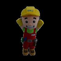 custom mascot malaysia din cidb hola mascot 5