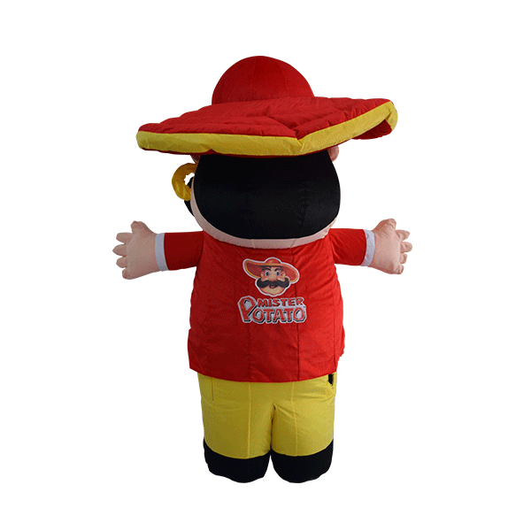 custom made mascot malaysia mister potato hola mascot 3