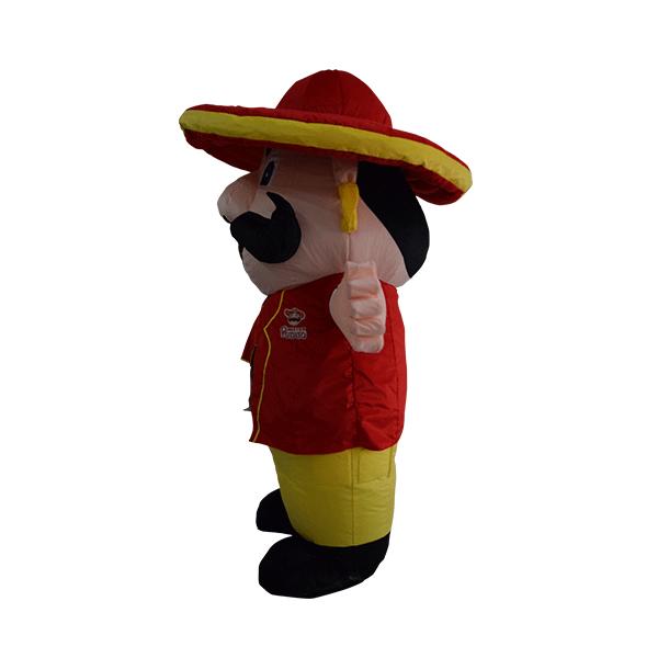 custom made mascot malaysia mister potato hola mascot 2