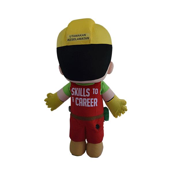 custom mascot malaysia din cidb hola mascot 3