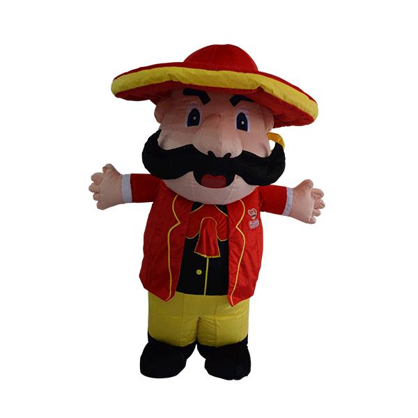 custom made mascot malaysia mister potato hola mascot 1