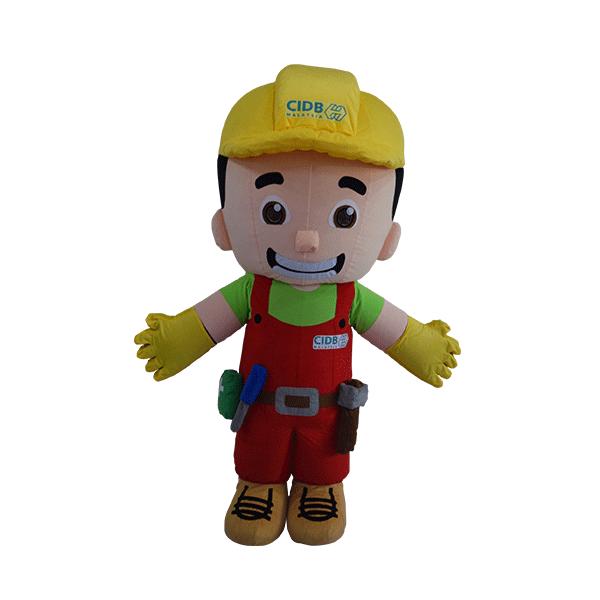 custom mascot malaysia din cidb hola mascot 1
