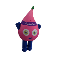 custom mascot malaysia chatime hola mascot 5