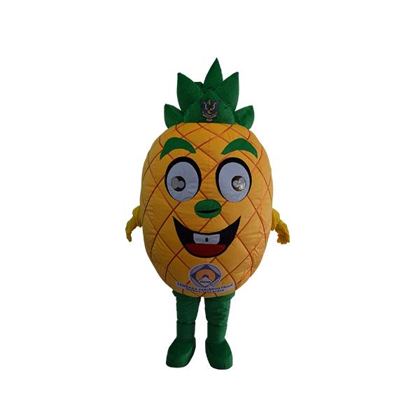 custom made mascot malaysia lembaga perindustrian nenas hola mascot 1