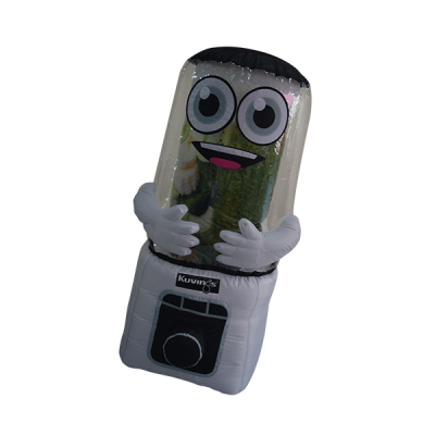 custom made mascot malaysia kuving blender hola mascot 5
