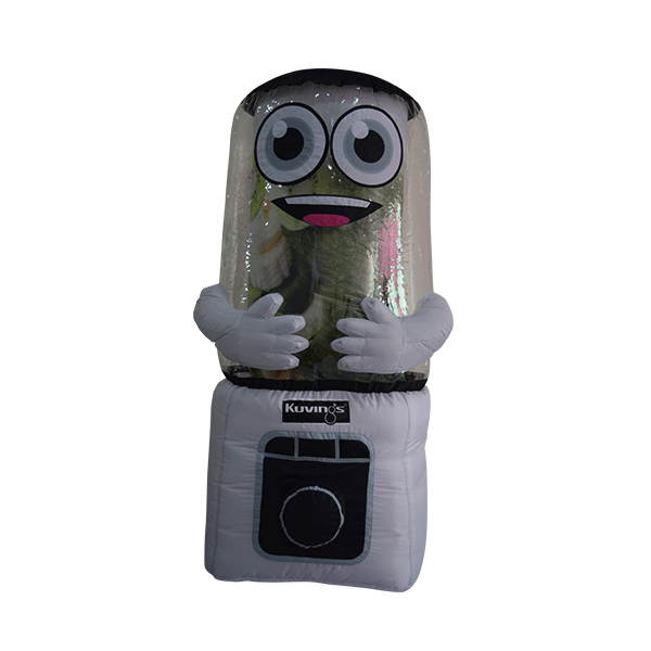 custom made mascot malaysia kuving blender hola mascot 1