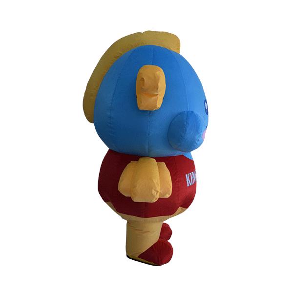 custom made mascot malaysia king cup fish hola mascot 4
