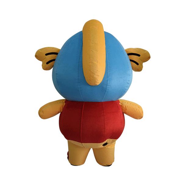 custom made mascot malaysia king cup fish hola mascot 3