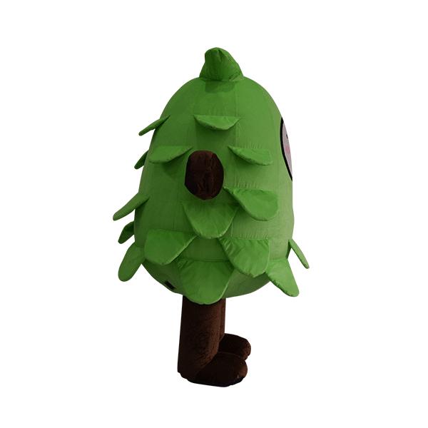 custom made mascot malaysia eco big tree hola mascot 9