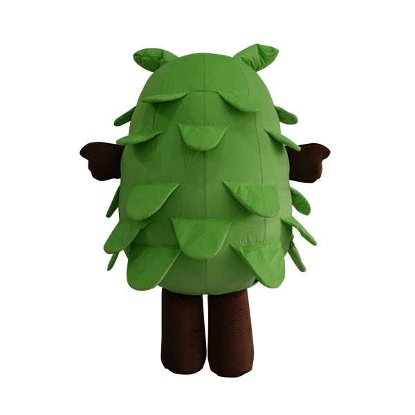 custom made mascot malaysia eco big tree hola mascot 8