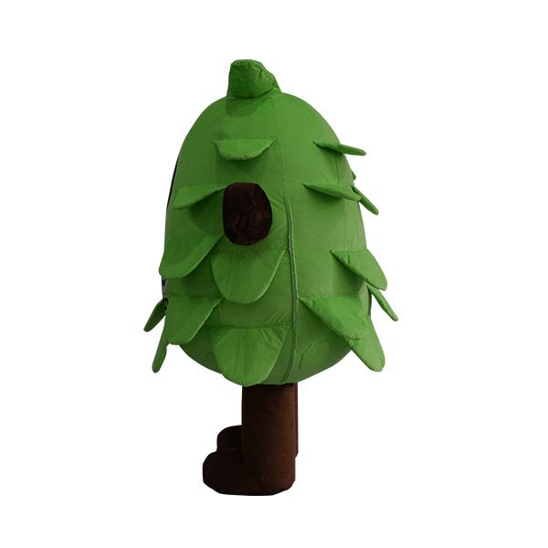 custom made mascot malaysia eco big tree hola mascot 7