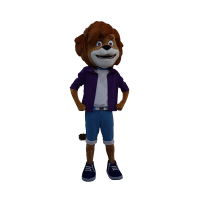 custom made mascot paddlepop max mascot 5