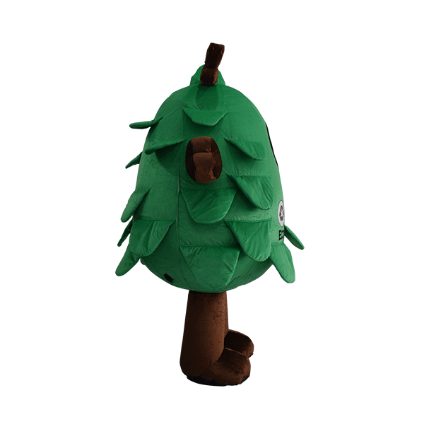 custom made mascot malaysia eco big tree hola mascot 4