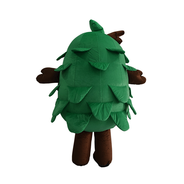 custom made mascot malaysia eco big tree hola mascot 3