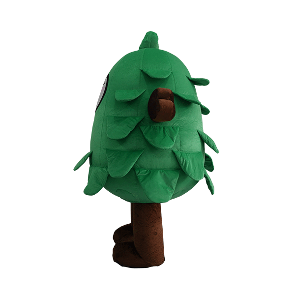 custom made mascot malaysia eco big tree hola mascot 2
